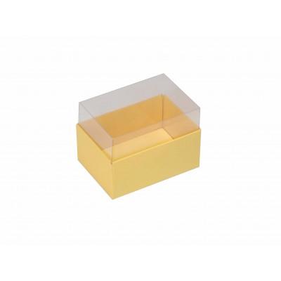 Caixa para 2 macarons - Amarelo