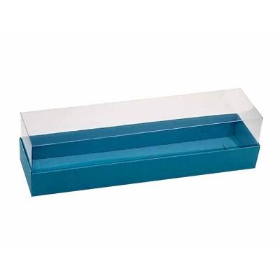 Caixa 6 macarons - Azul bahamas