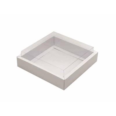 Caixa 12 macarons - Borda Branca