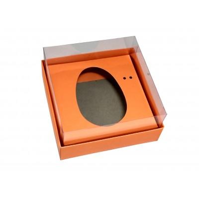 Caixa ovo de colher 100g/150g - laranja