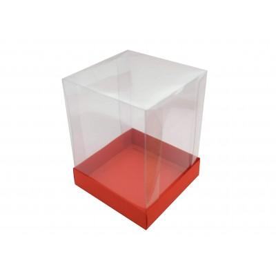 Caixa Mini Panetone 250g - Vermelho
