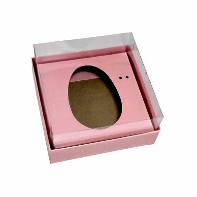 Caixa ovo de colher 100g/150g - rosa