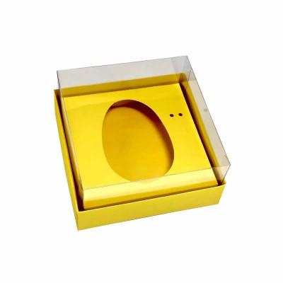 Caixa ovo de colher 100g/150g - amarelo