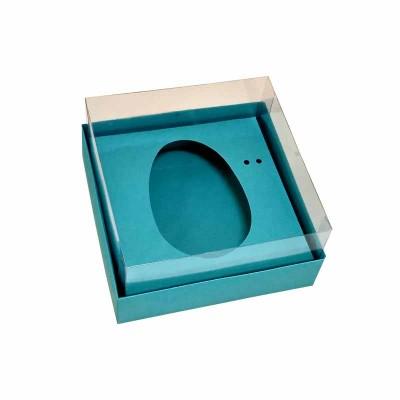 Caixa ovo de colher 100g/150g - azul tifanny