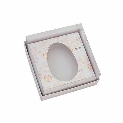 Caixa ovo de colher 100g/150g - branca Temática