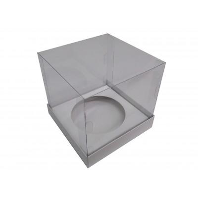 Caixa Panetone 18x18x20 - Branca