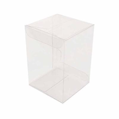Caixa transparente - 6x6x9 cm