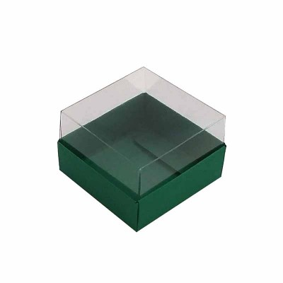 Caixa 1 macaron - Verde musgo