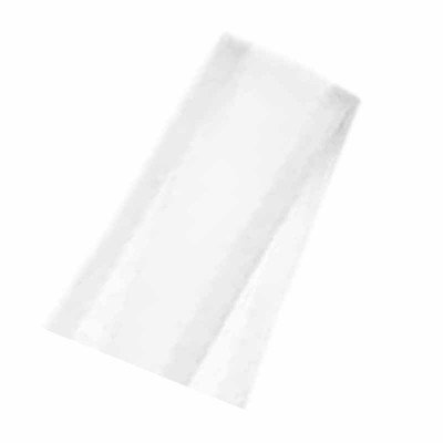 Fita de cetim N°5 (22 mm) - voal branco