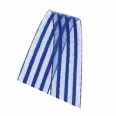 Fita de cetim 22 mm - voal azul escuro