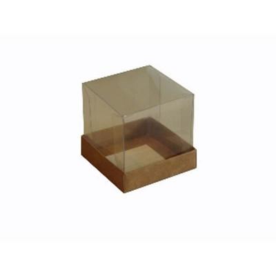 Caixa para Mini Bolo 6x6 - Kraft