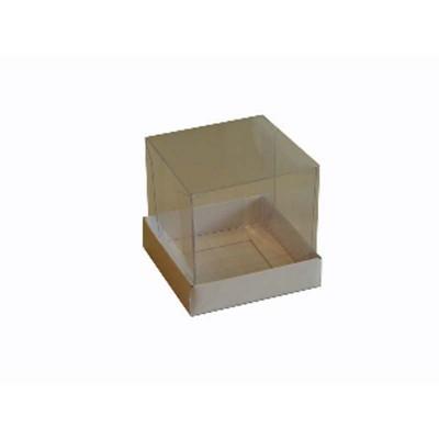 Caixa para Mini Bolo 6x6x- Branco