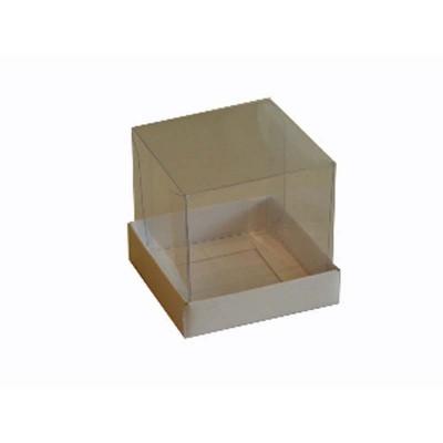 Caixa para Mini Bolo 8x8 - Branca