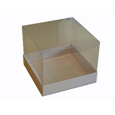 Caixa para Mini Bolo 11x11 - Branco