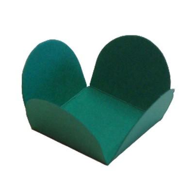 Forminhas - 4 PÉTALAS - Verde bandeira