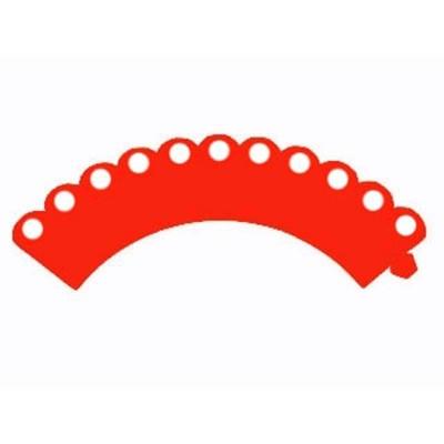 Wrapper MiniCupcake - Vermelho