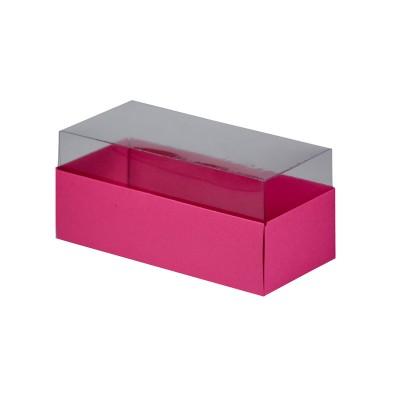 Caixa para 3 macarons - Rosa Pink