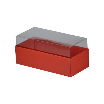 Caixa para 3 macarons - Vermelha