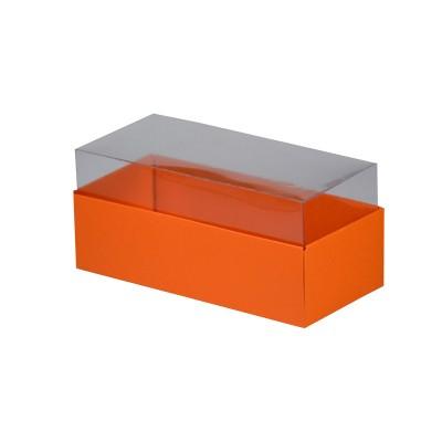 Caixa para 3 macarons - Laranja/Cenoura