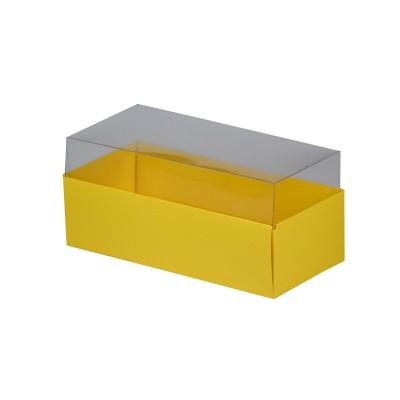 Caixa para 3 macarons - Amarelo