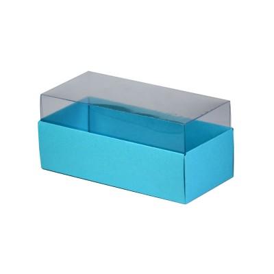 Caixa para 3 macarons - Azul Tiffany