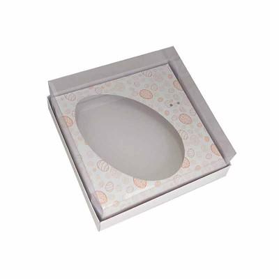 Caixa ovo de colher 350g - branca Temática
