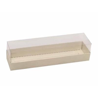 Caixa para 7 a 8 macarons - Marfim
