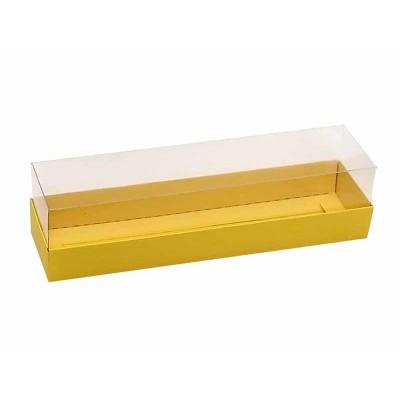 Caixa para 7 a 8 macarons - Amarelo