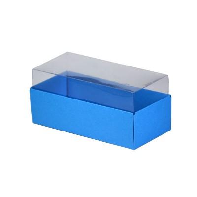 Caixa para 3 macarons - Azul Royal