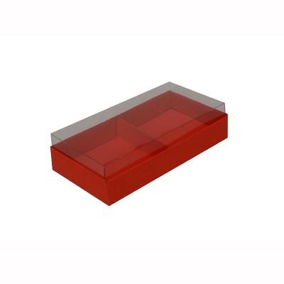 Caixa para 2 brownies - Vermelho