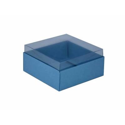 Caixa para 4 doces e bombons - Azul Nice