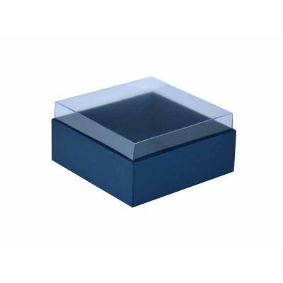 Caixa para 4 doces e bombons - Azul Escuro