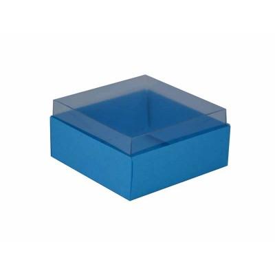 Caixa para 4 doces e bombons - Azul Royal