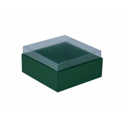 Caixa para 4 doces e bombons - Verde Santiago