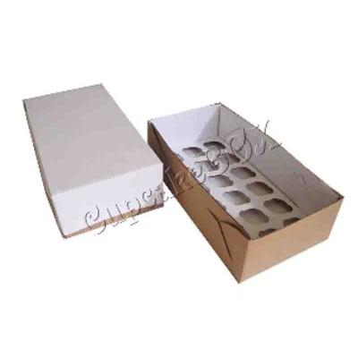 Caixa Transporte 18 mini cupcakes