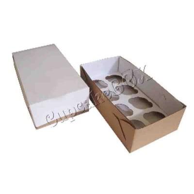 Caixa Transporte 8 cupcakes padrão