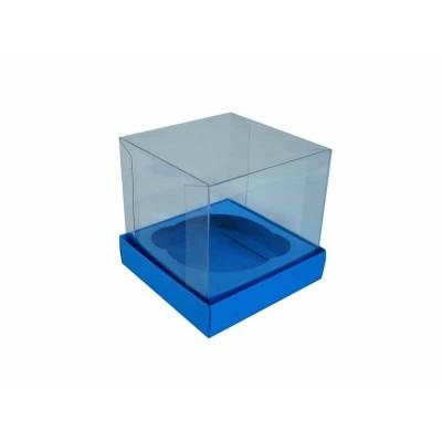 Caixa especial Cupcake - Azul Royal