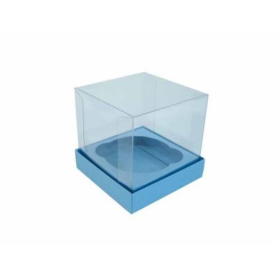 Caixa especial Cupcake - Azul Nice