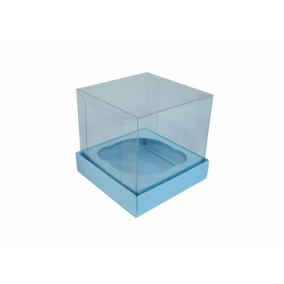Caixa especial Cupcake - Azul bebê