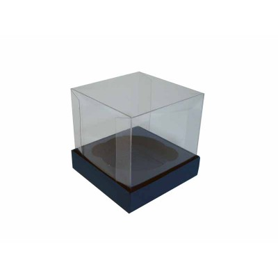 Caixa especial Cupcake - Azul Escuro