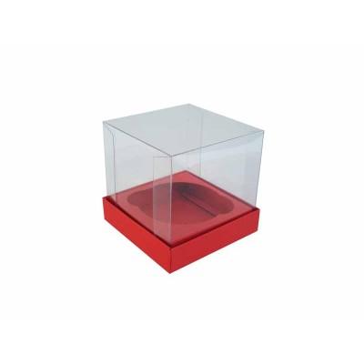 Caixa especial Cupcake - Vermelho