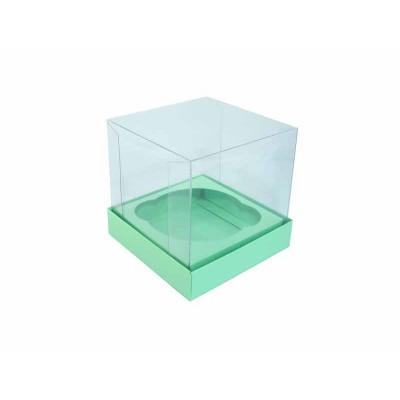 Caixa especial Cupcake - Verde Maçã