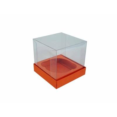 Caixa especial Cupcake - Laranja