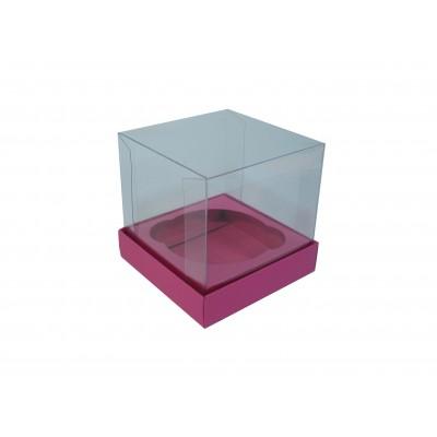 Caixa especial Cupcake - Rosa Pink