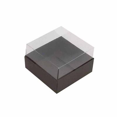Caixa 1 macaron - Marron escuro
