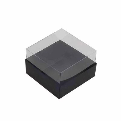 Caixa 1 macaron - Preto Fosco