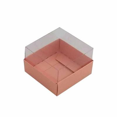 Caixa 1 macaron - Rosa Salmão