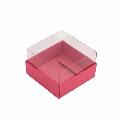Caixa 1 macaron - Rosa Pink