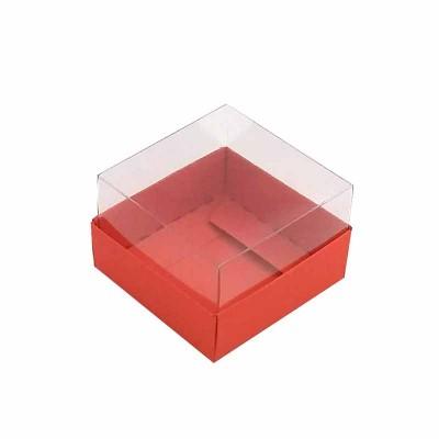 Caixa 1 macaron - Vermelho