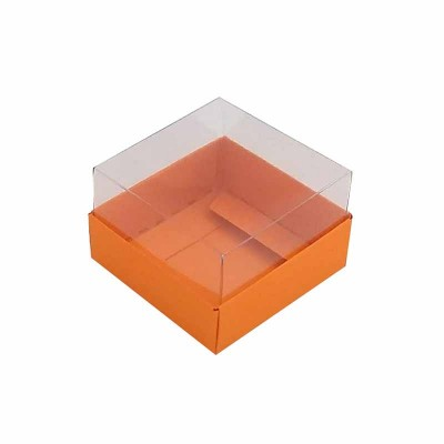 Caixa 1 macaron - Laranja / Cenoura